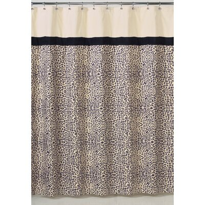Animal Safari Microsuede Shower Curtain