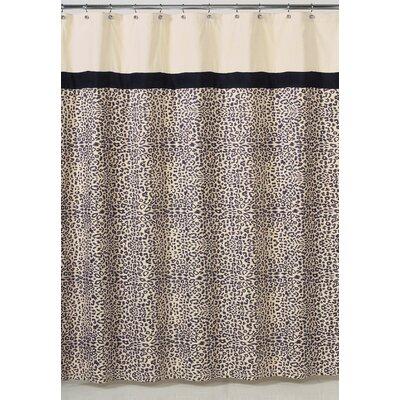 Animal Safari Microsuede Shower Curtain