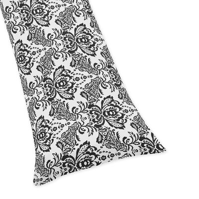 Sophia Damask Body Pillow Case