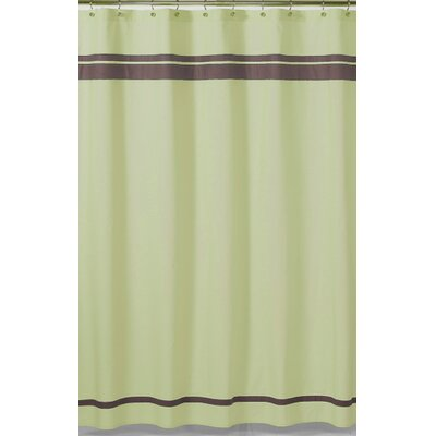 Sweet JoJo Designs Green and Brown Hotel Shower Curtain - ShowerCurtain-Hotel-GR-CH