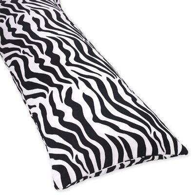 Zebra Cotton Body Pillow Case