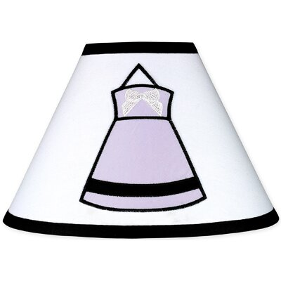 Princess 4 Polyester Empire Lamp Shade Color: Purple