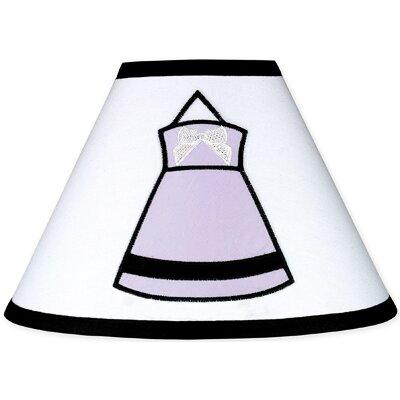 "Sweet Jojo Designs 10"" Princess Lamp Shade - Color: Purple"