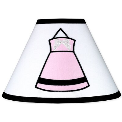 Princess 4 Polyester Empire Lamp Shade Color: Pink