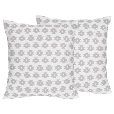 Feather Tribal Geometric Print Throw Pillow