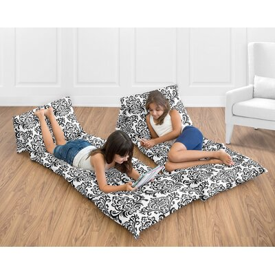 Isabella 100% Cotton Floor Pillow Lounger Cover