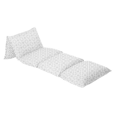 Diamond 100% Cotton Floor Pillow Lounger Cover