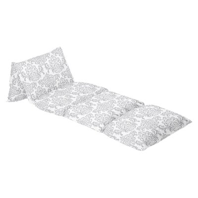 Elizabeth Damask 100% Cotton Floor Pillow Lounger Cover