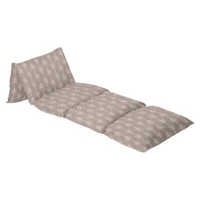 Outdoor Adventure Arrow Print 100% Cotton Floor Pillow Lounger Cover