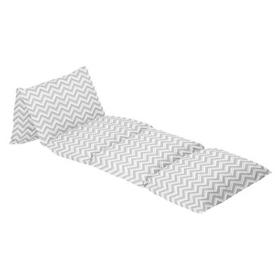 Zig Zag Floor Lounger 100% Cotton Pillow Cover