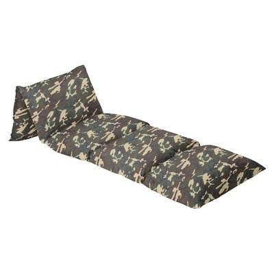 Camo 100% Cotton Floor Pillow Lounger Cover