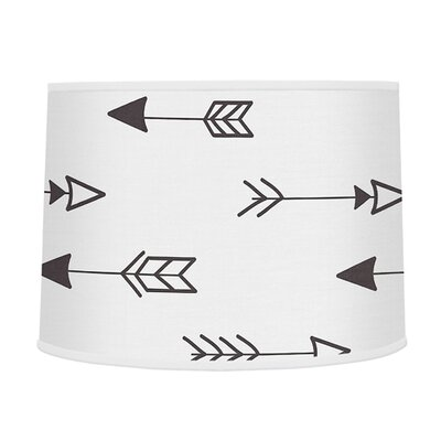 Fox Large Arrow Print 10 Drum Lamp Shade