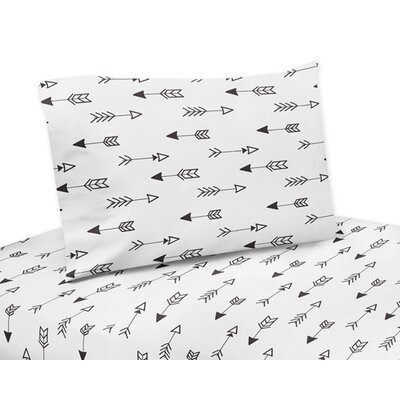 Fox Arrow Print Sheet Set Size: Twin