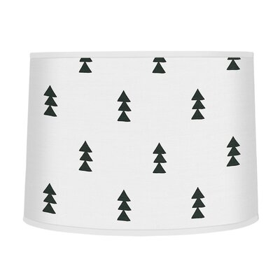Bear Mountain 10 Fabric Drum Lamp Shade