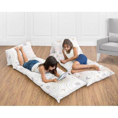 Celestial Floor Pillow Lounger Cover