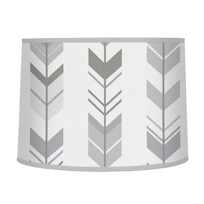Mod Arrow 10 Fabric Drum Lamp Shade