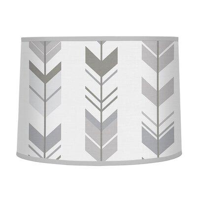 Mod Arrow 10 Fabric Drum Lamp Shade
