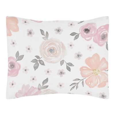 Floral Standard Pillow Sham
