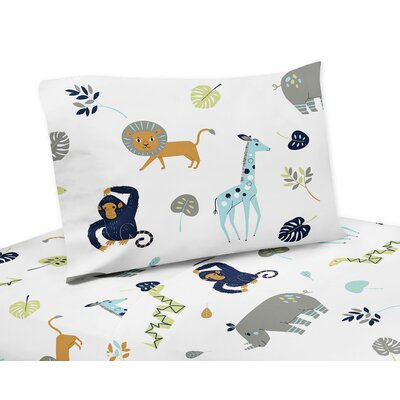 Mod Jungle Sheet Set Size: Queen