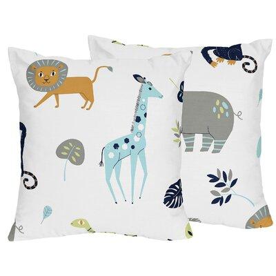 Mod Jungle Throw Pillow