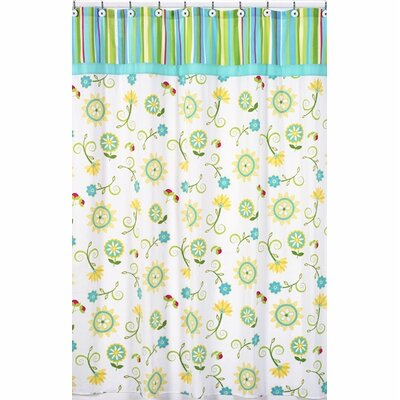 Layla Cotton Shower Curtain