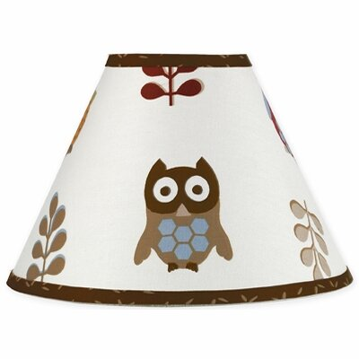 Night Owl 10 Cotton Empire Lamp Shade