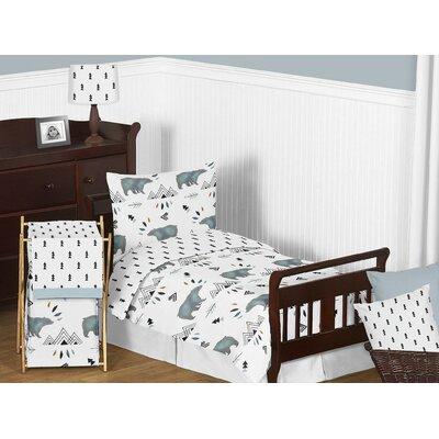 Bear Mountain 5 Piece Toddler Bedding Set