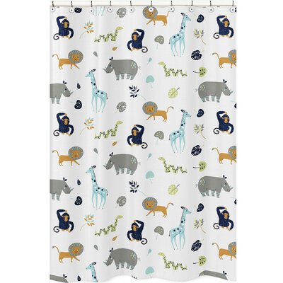 Mod Jungle Shower Curtain