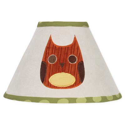 Forest Friends 10 Cotton Empire Lamp Shade