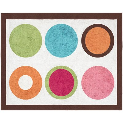 Deco Dot Area Rug Rug Size: Rectangle 26 x 3