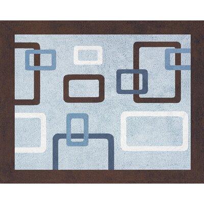 Geo Floor Area Rug Rug Size: 26 x 3