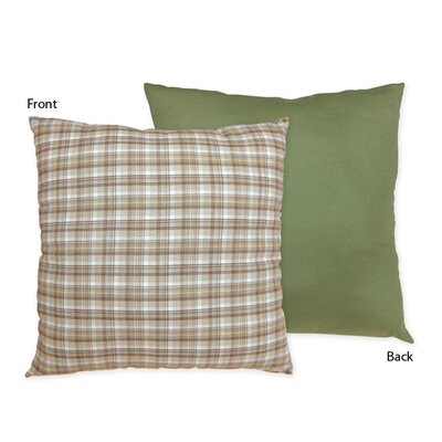 Construction Zone Cotton Throw Pillow