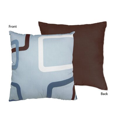 Geo Cotton Throw Pillow