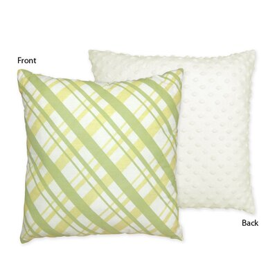 Leap Frog Cotton Throw Pillow