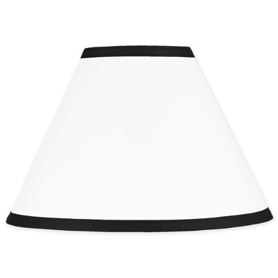Hotel 10 Cotton Empire Lamp Shade Size: 7, Color: White and Black