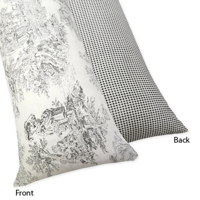 French Toile Body Pillowcase