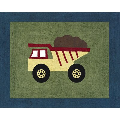 Construction Zone Area Rug Rug Size: Rectangle 26 x 3