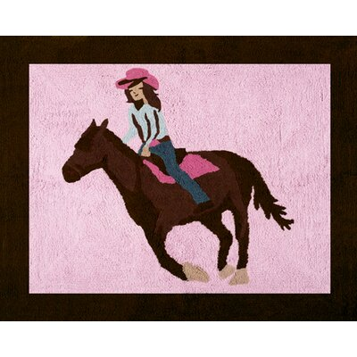 Cowgirl Collection Floor Rug Rug Size: 26 x 3