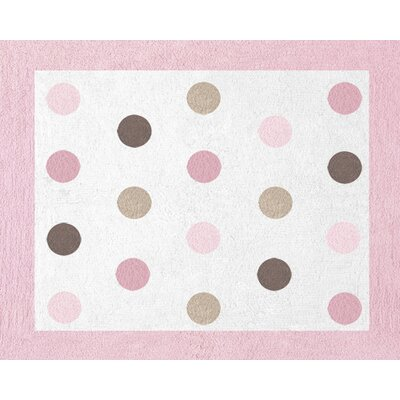Mod Dots Floor Rug Rug Size: 26 x 3