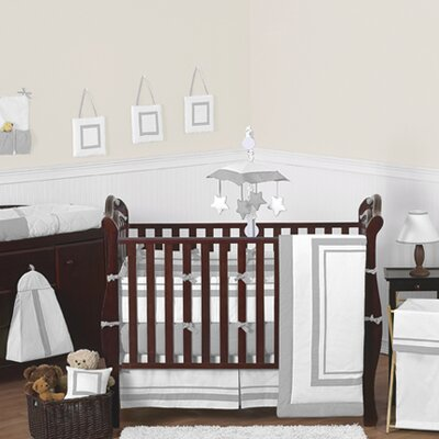 Jojo White And Gray Hotel Crib Bedding Toddler Kids Bedroom Decor Check Out The From