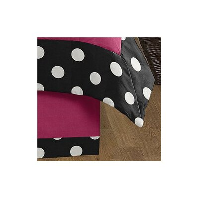 Hot Dot Queen Bed Skirt