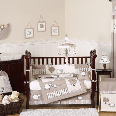Lamb 9 Piece Crib Bedding Set