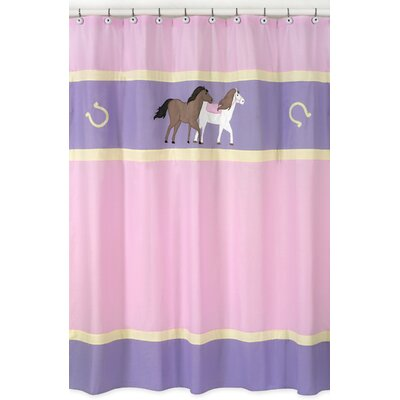 Pony Shower Curtain