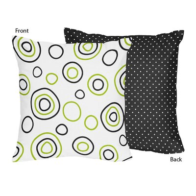 Spirodot Cotton Throw Pillow