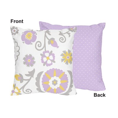 Suzanna Cotton Throw Pillow