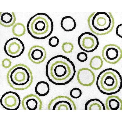 Spirodot Floor Rug Rug Size: 26 x 3
