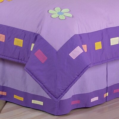 Danielles Daisies Queen Bed Skirt