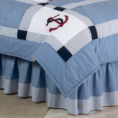 Come Sail Away Queen Bed Skirt