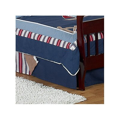 Nautical Nights Queen Bed Skirt