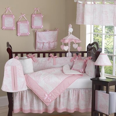 Sweet Jojo Designs Toile French Crib Bedding Collection (2 Pieces) - Color: Pink at Sears.com